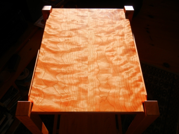 curly cherry tabletop
