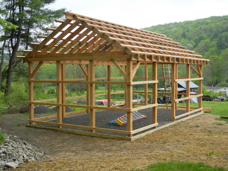 Pole barn jeff joseph woodworker A frame barn plans