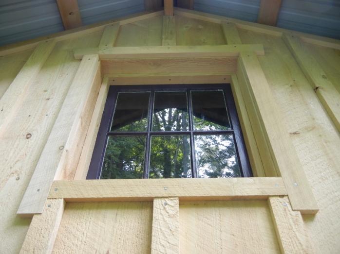 pole barn window