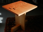 little cherry side table
