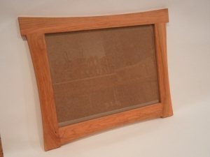 cherry picture frame