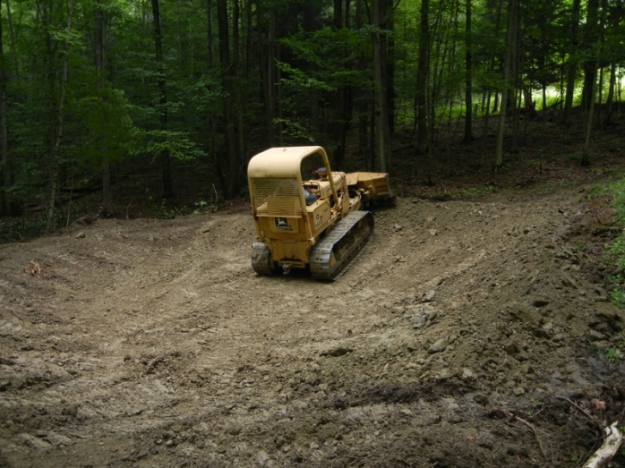bulldozing vernal pool