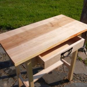 single maple board tabletop