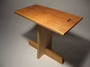 cherry ash Nakashima table