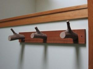 wooden towel hooks