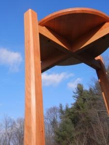 blue sky cherry table
